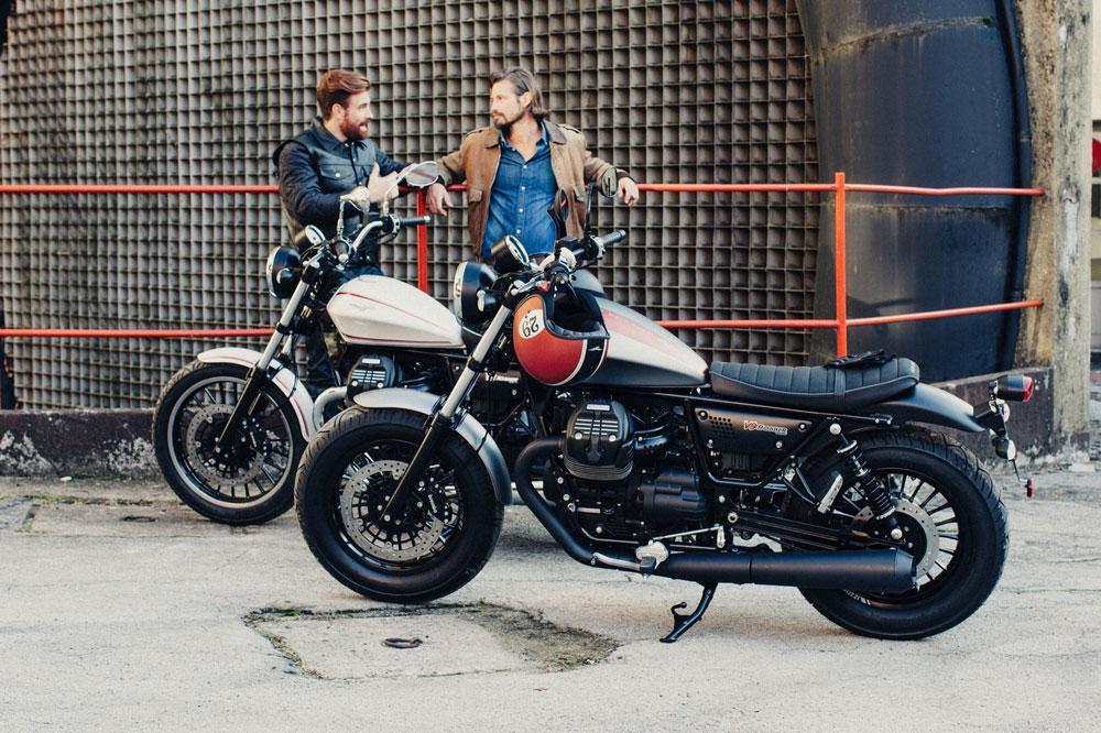 Moto Guzzi Bobber y Roamer
