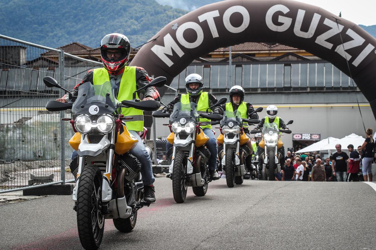 Moto Guzzi reunió a 30.000 asistentes en su Open House