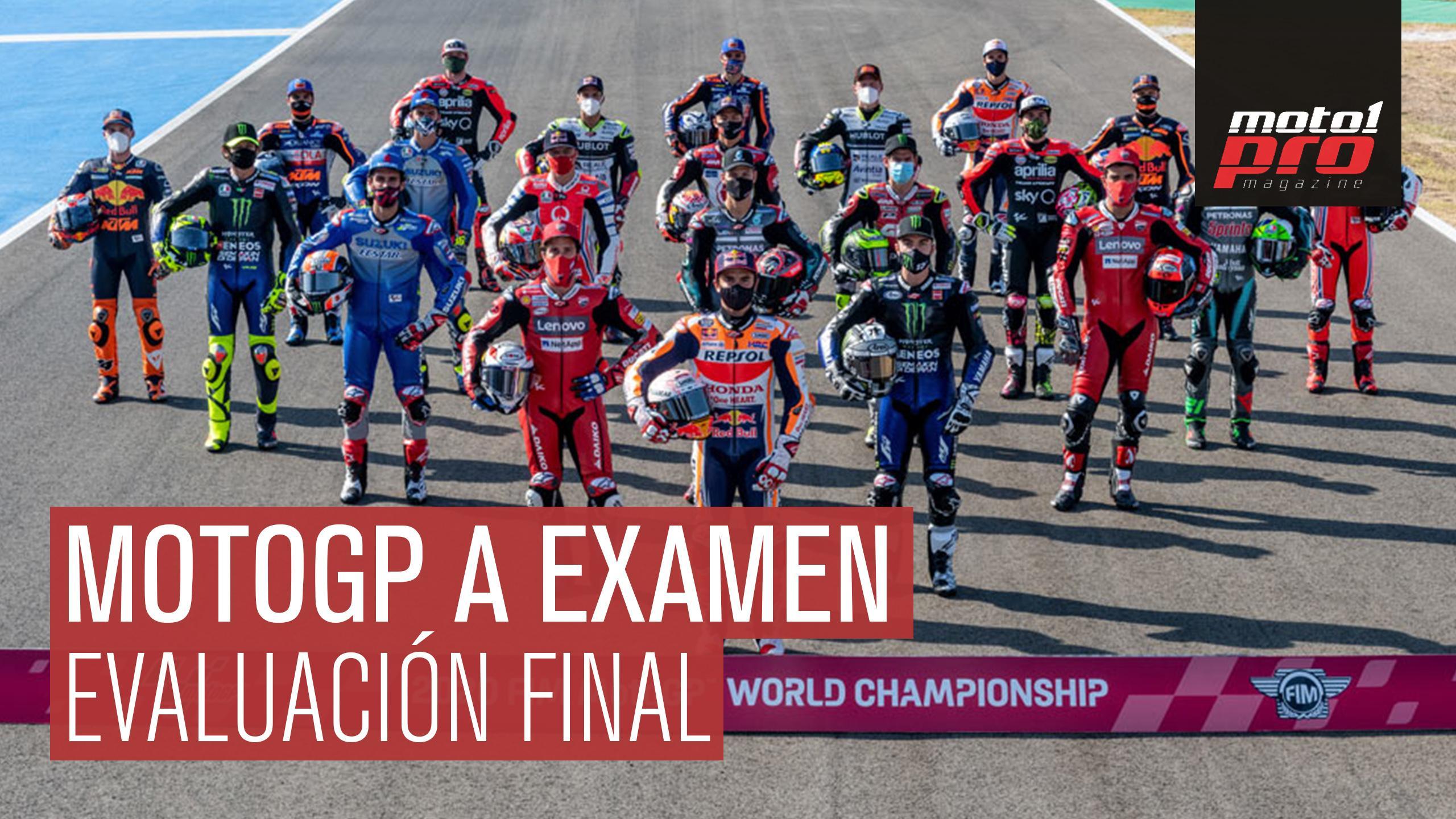 VÍDEO - MotoGP a examen. Evaluación final