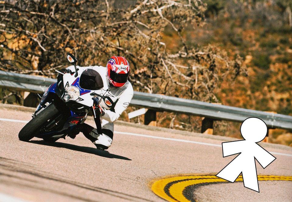 Limites de velocidad motos, inocentada