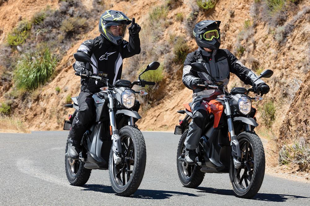 Motos Electricas Zero 2017