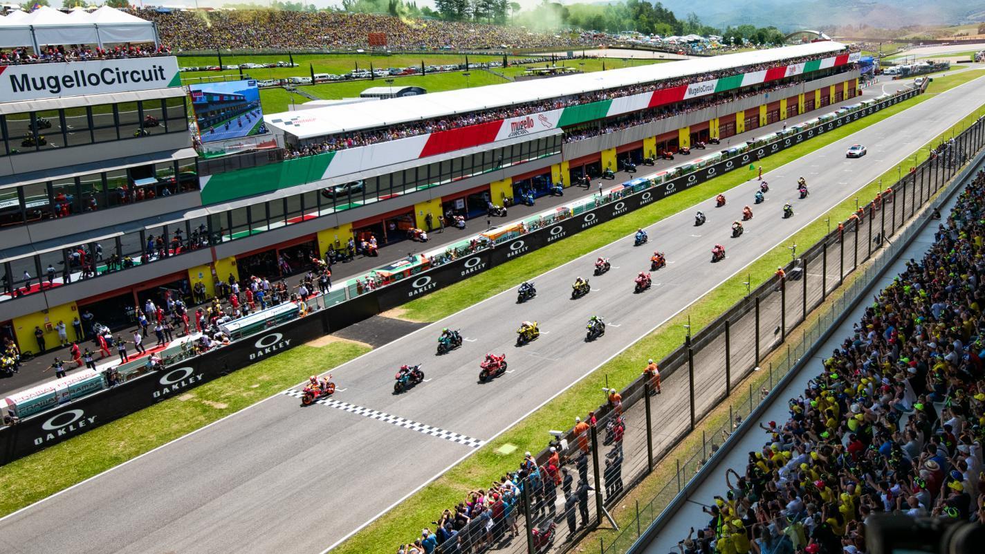 Horarios del Gran Premio Oakley de Italia: Benvenuti al Mugello