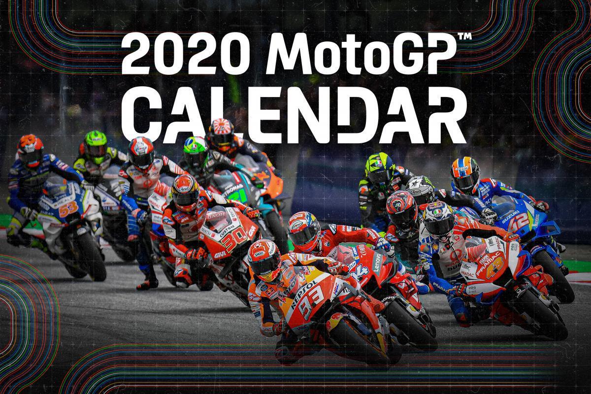 Calendario motogp 2020
