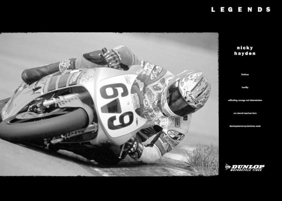 Nicky Hayden Dunlop Legend