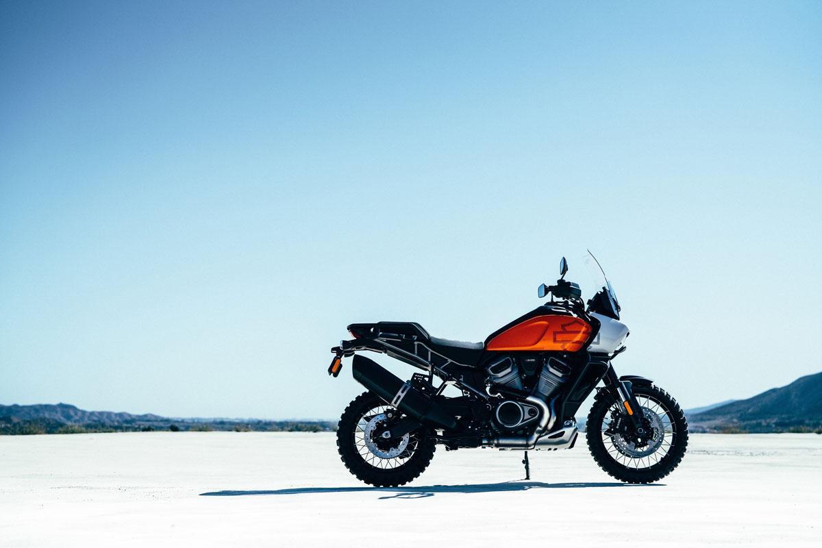 Pan America, la primera moto trail de Harley Davidson