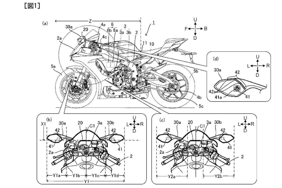 "Yamaha patenta indicadores para sus futuras motos ""conectadas"""