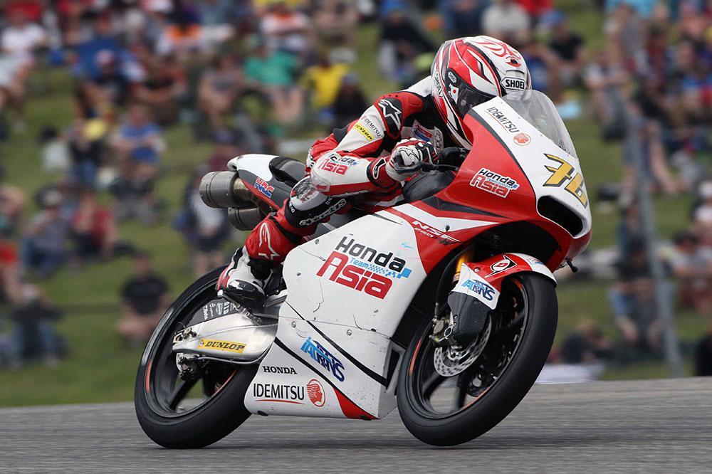 Victoria del Malasio Pawi durante el GP de Alemania de Moto3