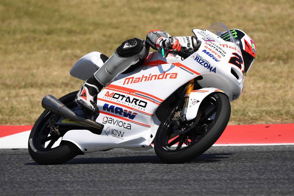 Pecco Bagnaia, victoria en Moto3 en el GP de Assen