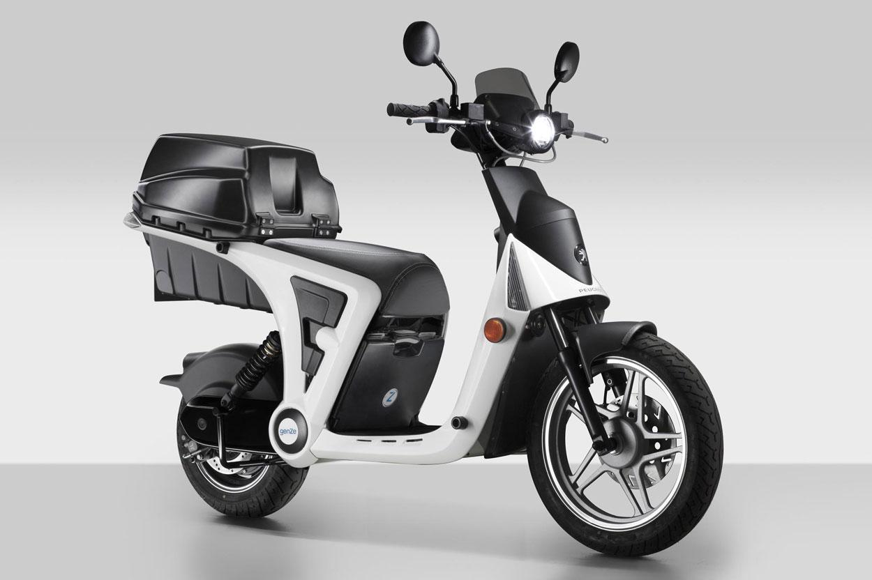 Peugeot 2.0, scooter electrico pensado para el bike sharing