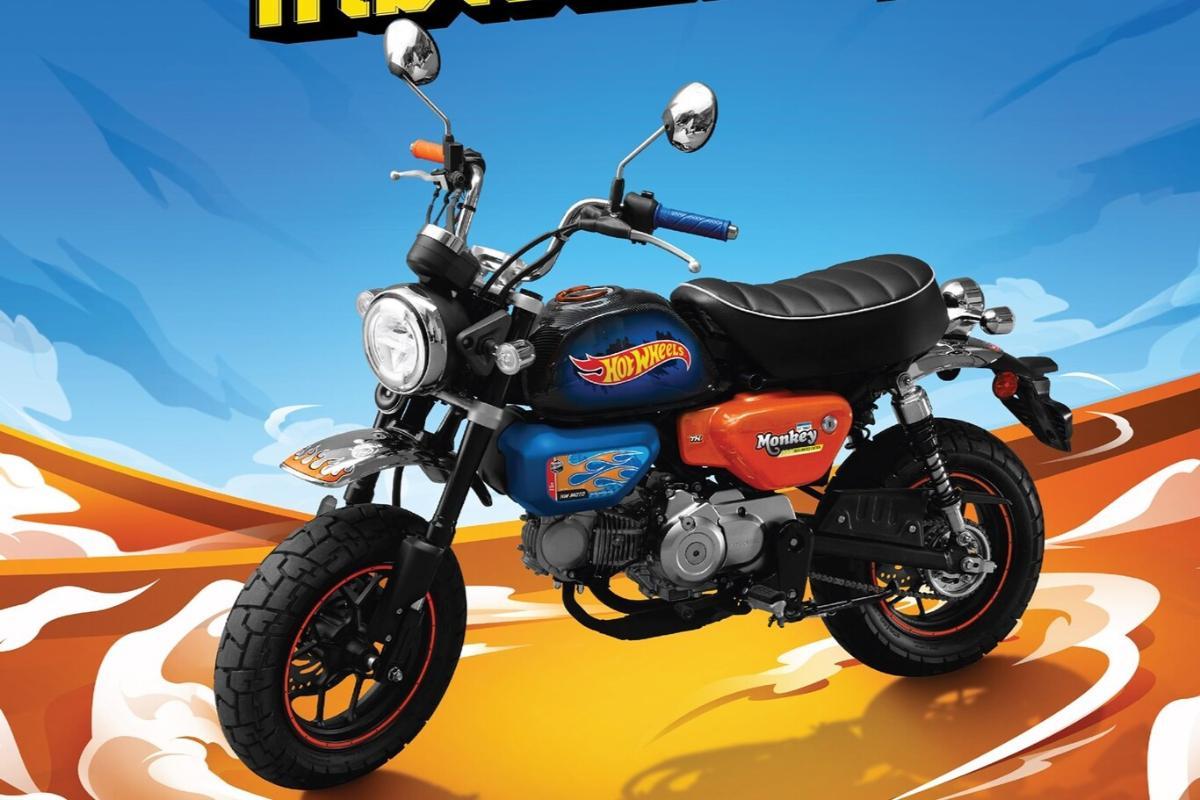Honda Monkey edición Hot Wheels: en la palma de tu mano
