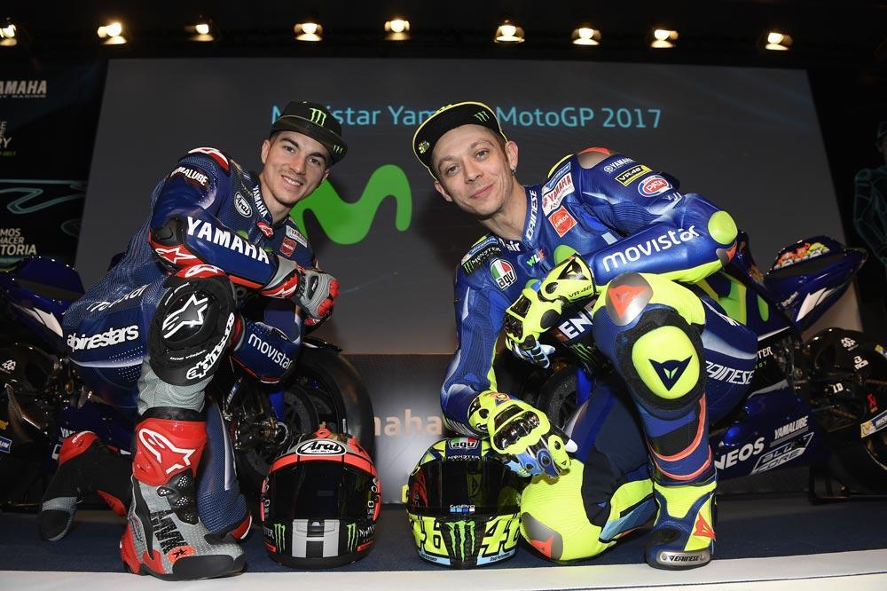 Presentación del Equipo Yamaha MotoGP 2017
