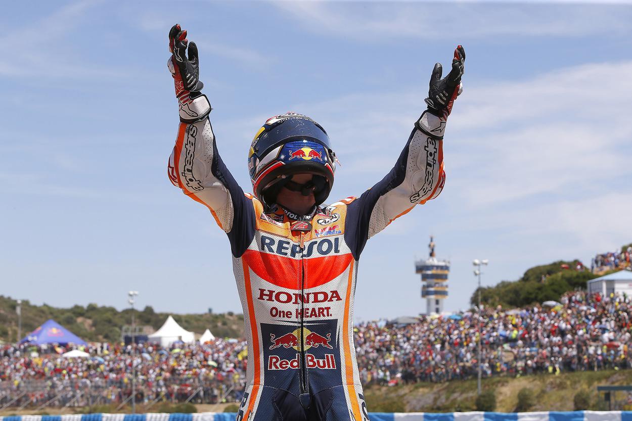 Marc Márquez llega cargado de energías al Gran Premio de Jerez 2018
