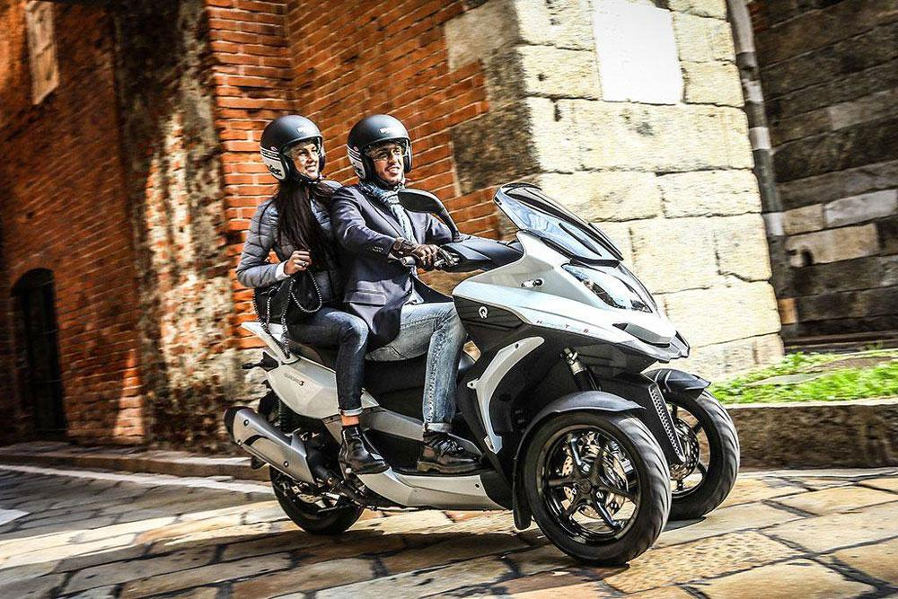 Promociones scooter Quadro para este verano