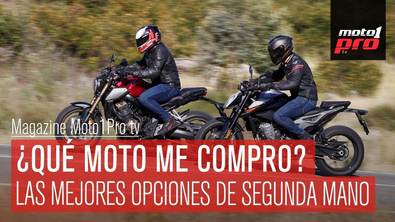 VIDEO | ¿Qué moto me compro? Mejores opciones de segunda mano