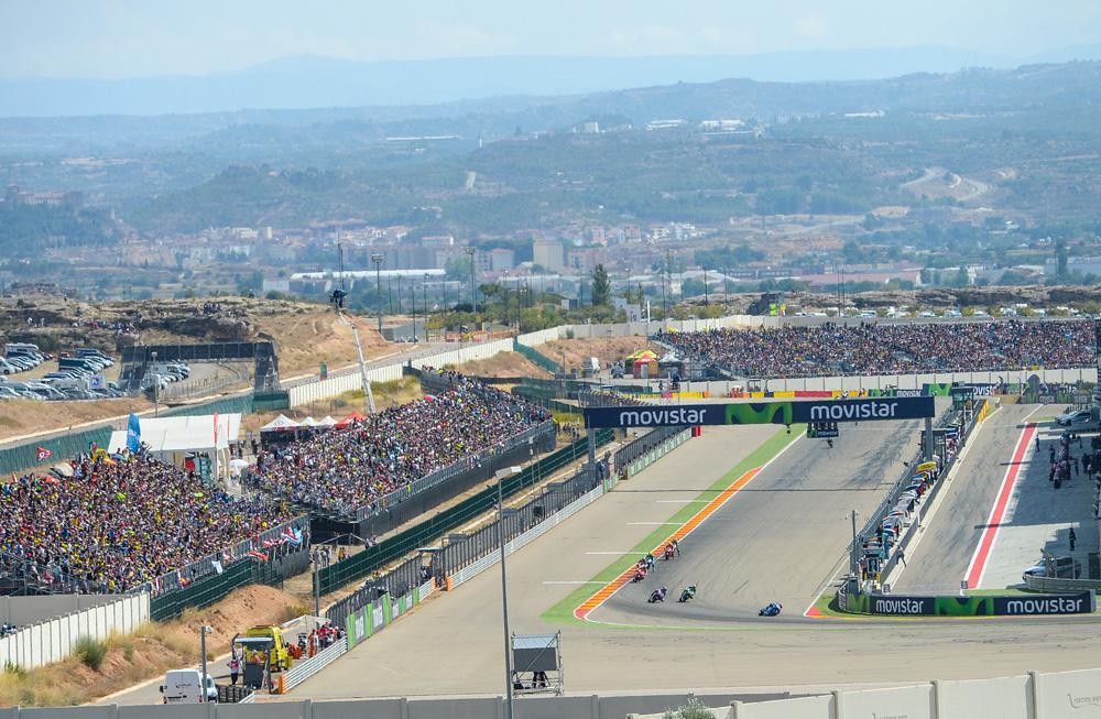 Récord de asistencia en el Gran Premio de Aragón 2016