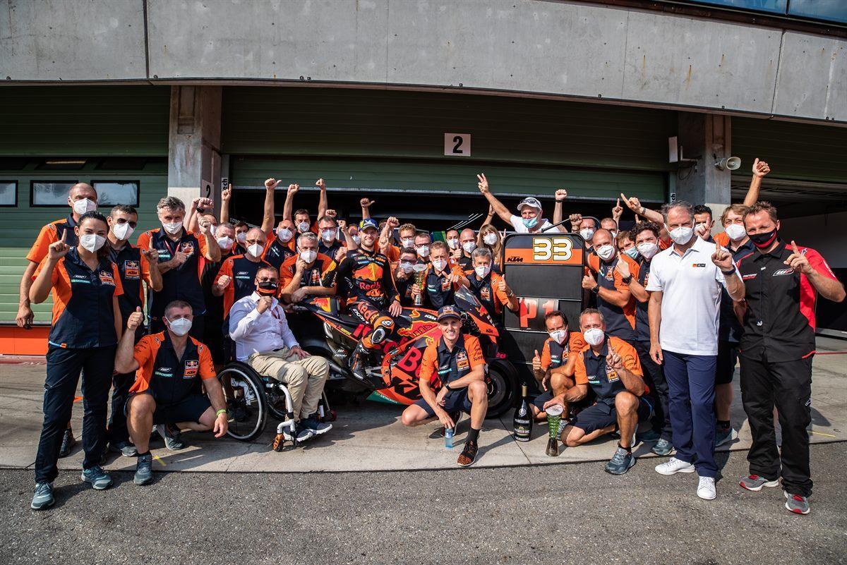 El mejor año de Red Bull KTM en MotoGP en cifras