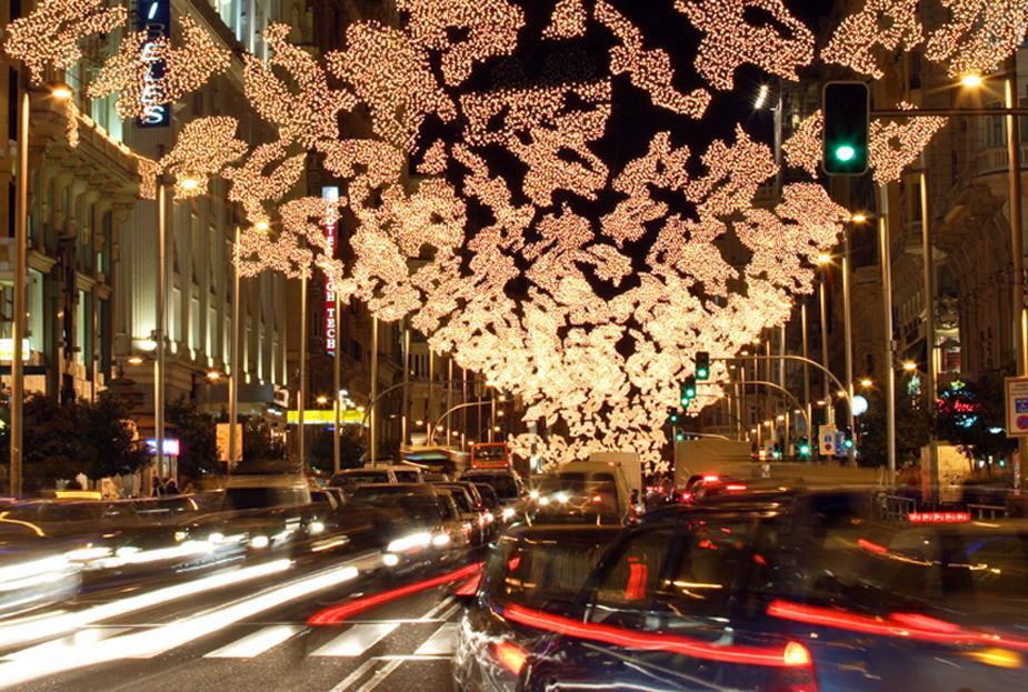 Restricción tráfico Navidad Madrid