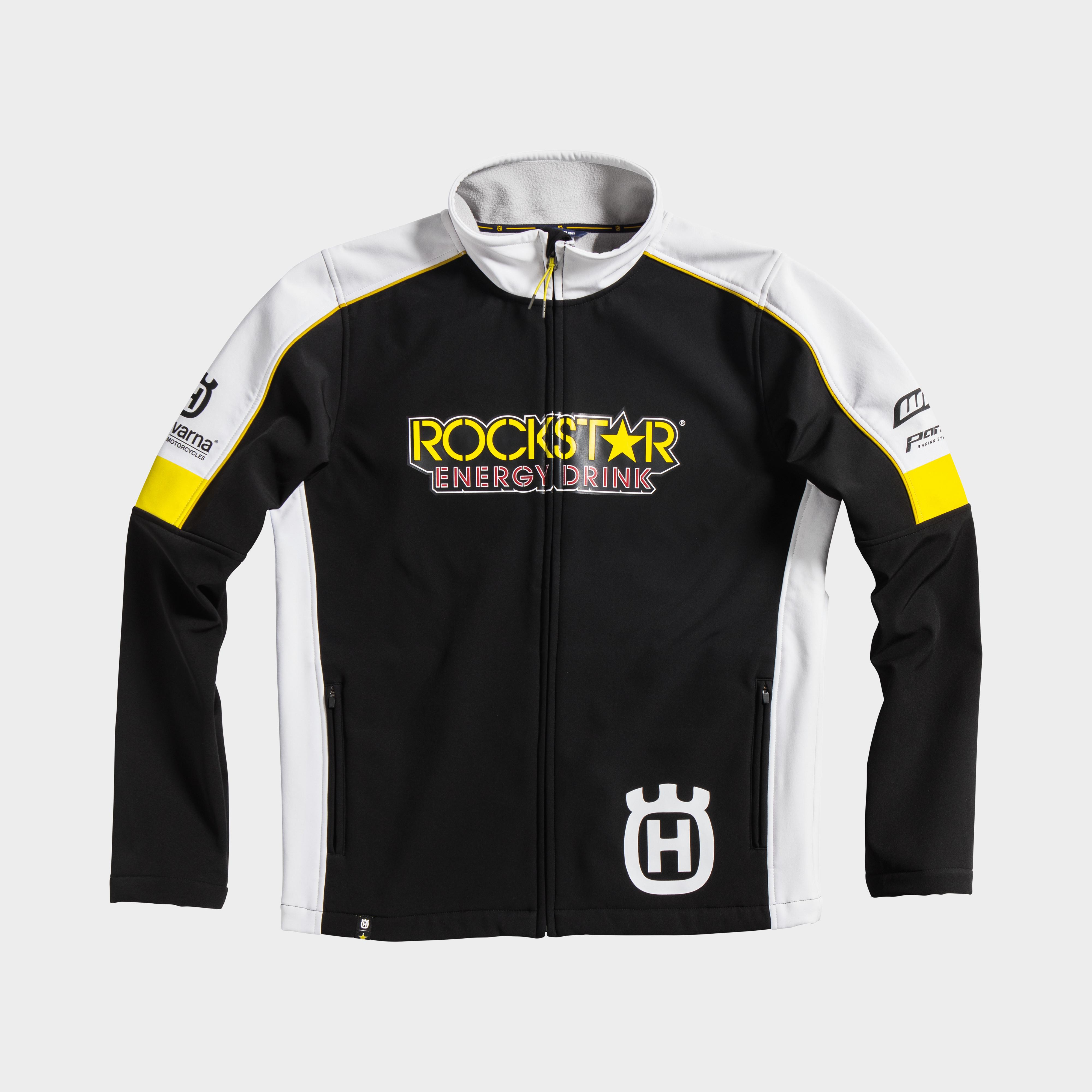 rockstar energy husqvarna factory racing replica collection team jacket