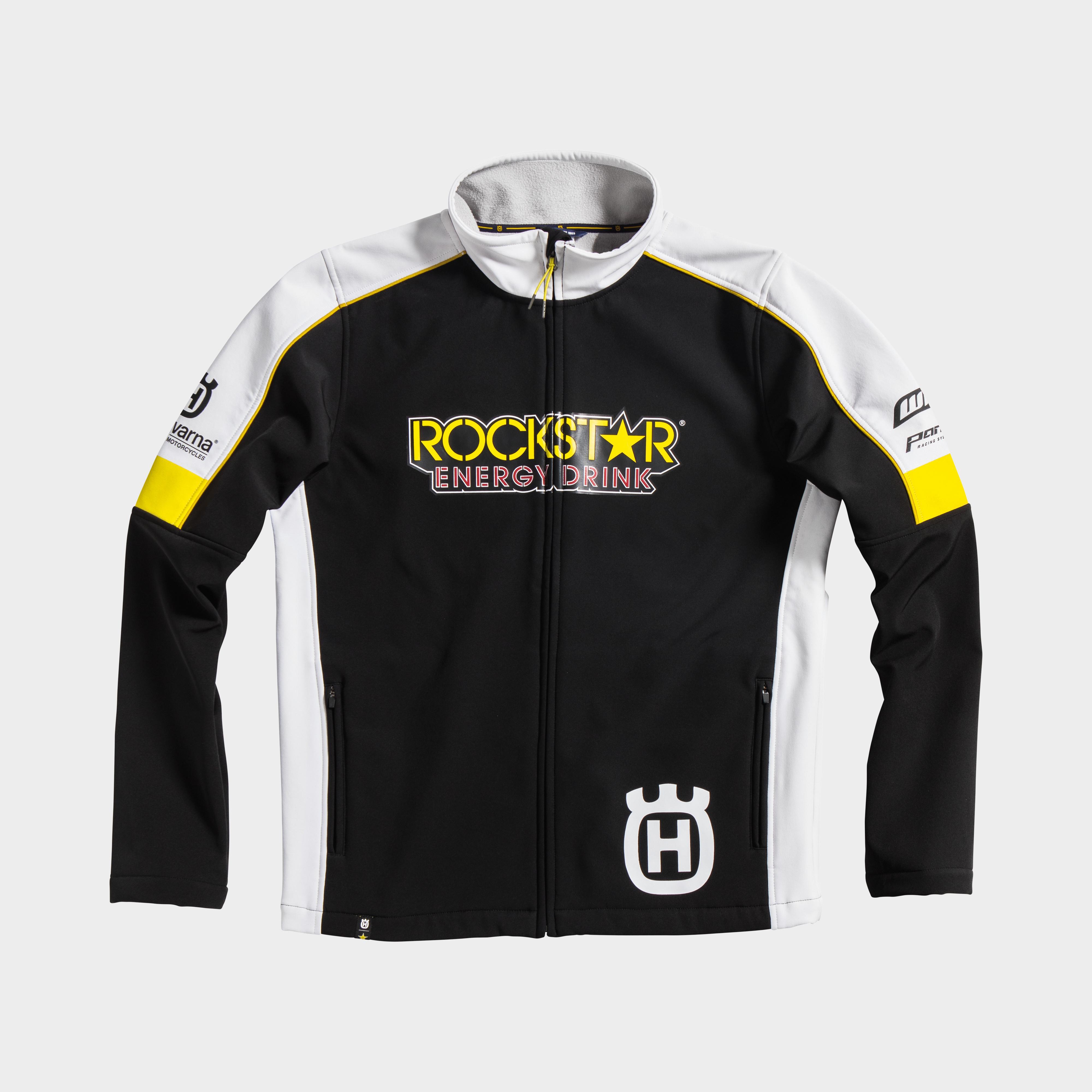 rockstar energy husqvarna factory racing replica collection team jacket