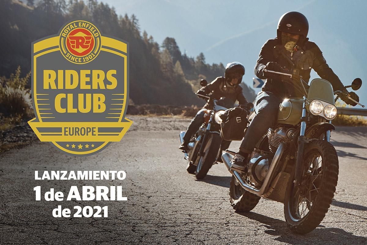 Únete al Riders Club of Europe de Royal Enfield