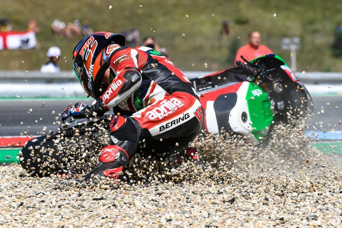 caidas motogp 2017