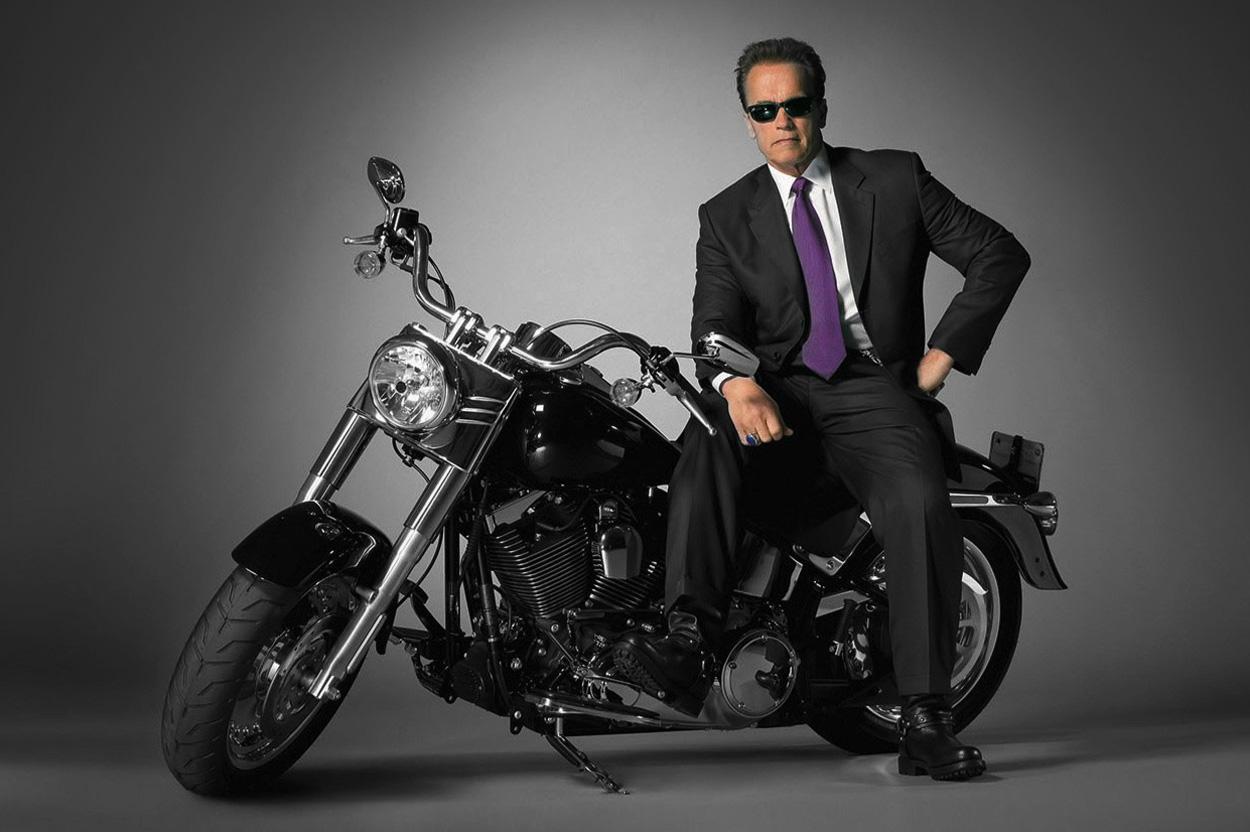 Harley Davidson Fat Boy de Arnold Schwarzeneger