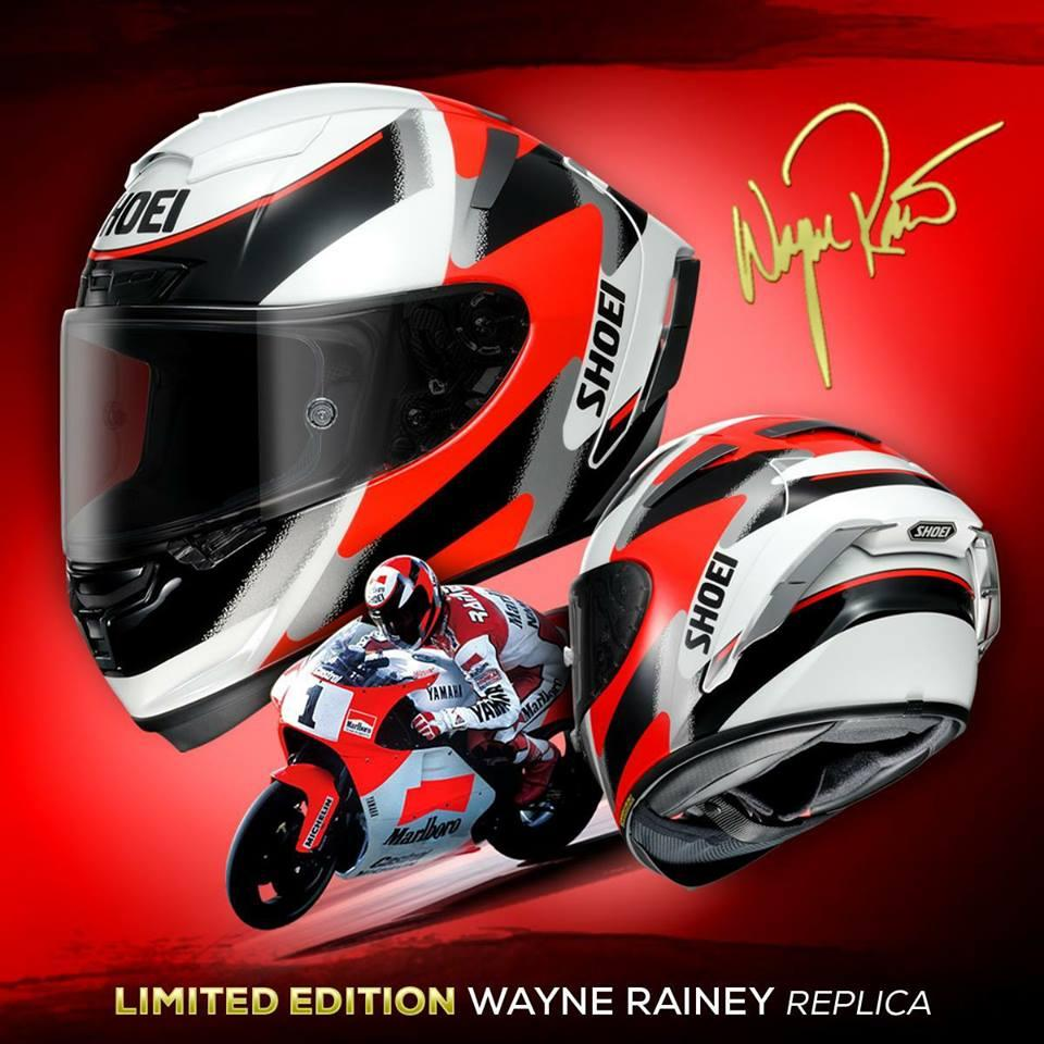 Shoei Xspirit3 Wayne Rainey