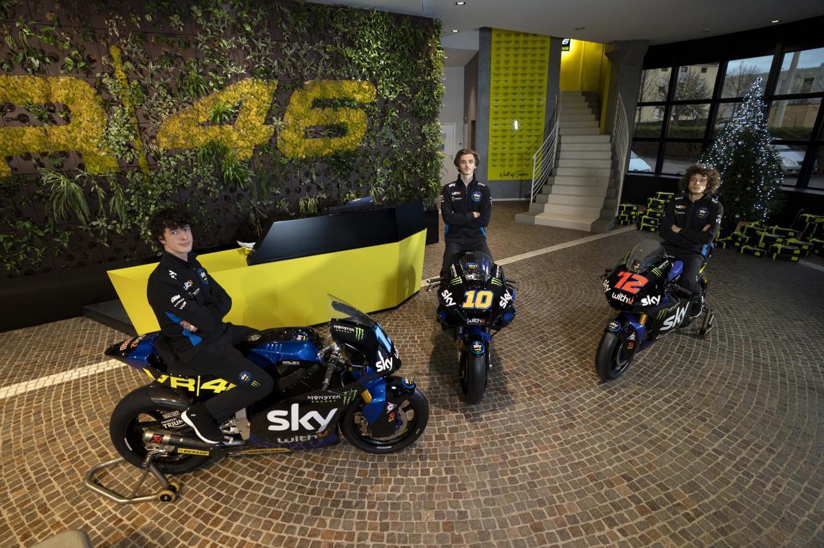 El SKY Racing Team VR46 ya tiene moto para 2021