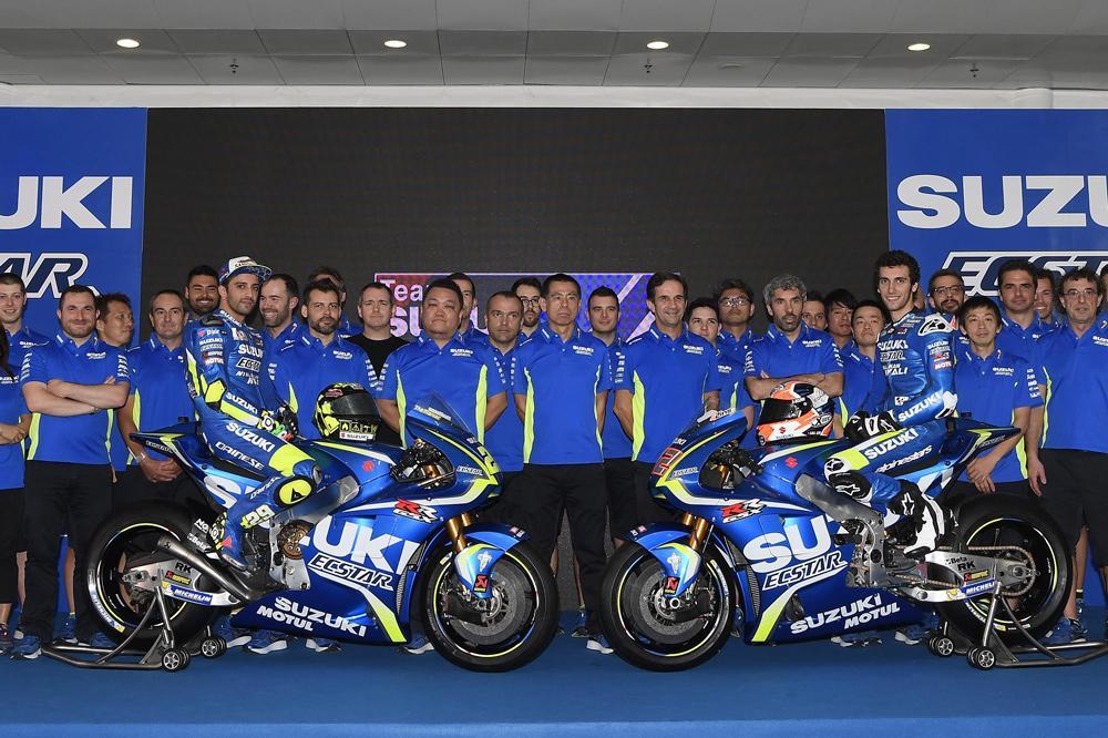 Presentacion del equipo Suzuki MotoGP 2017
