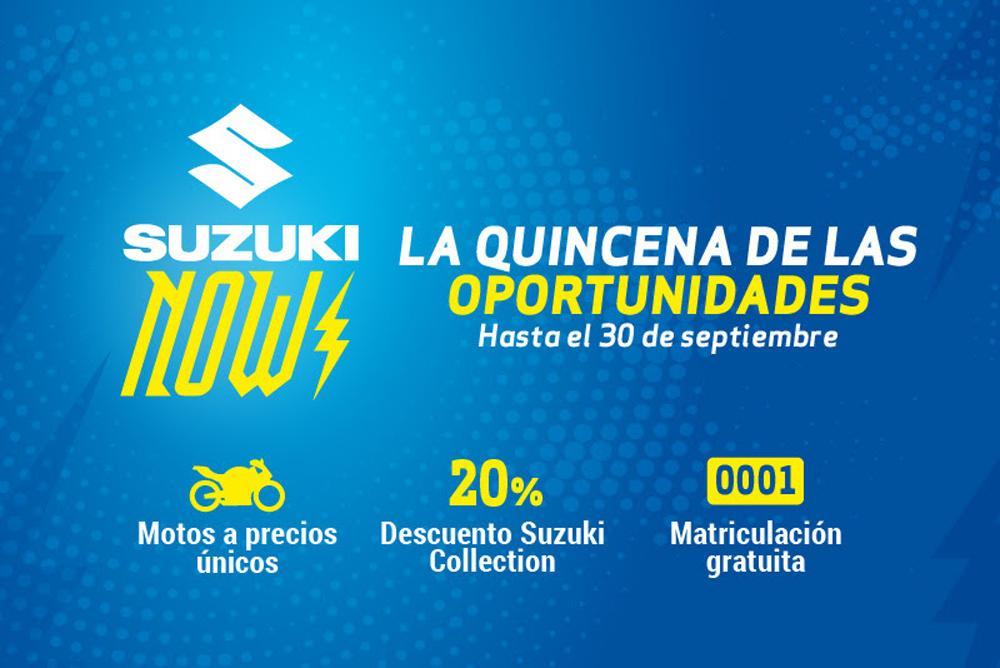 Suzuki Now Promociones septiembre 2018