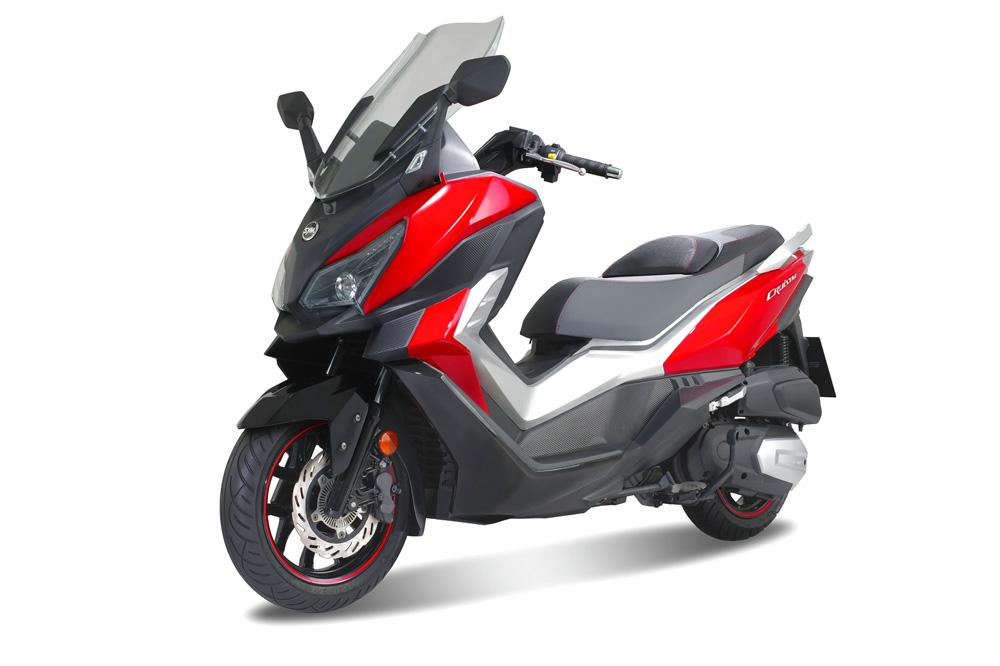 SYM CRUiSYM 300, scooter GT