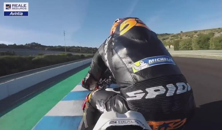 Tito Rabat onboard Ducati MotoGP