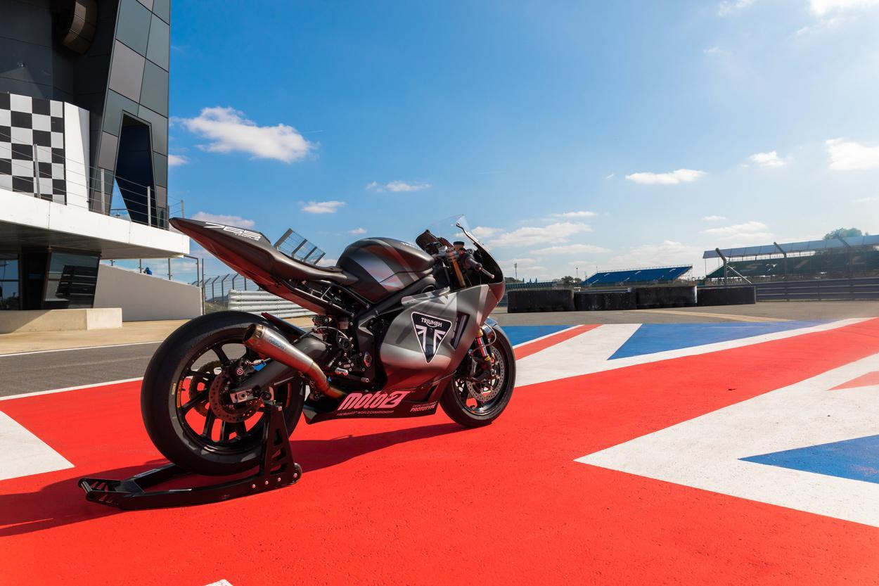 Triumph presentará su Moto2 en el Gran Premio de Gran Bretaña