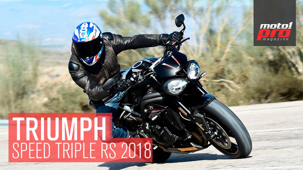triumph speed triple RS 1050 video prueba