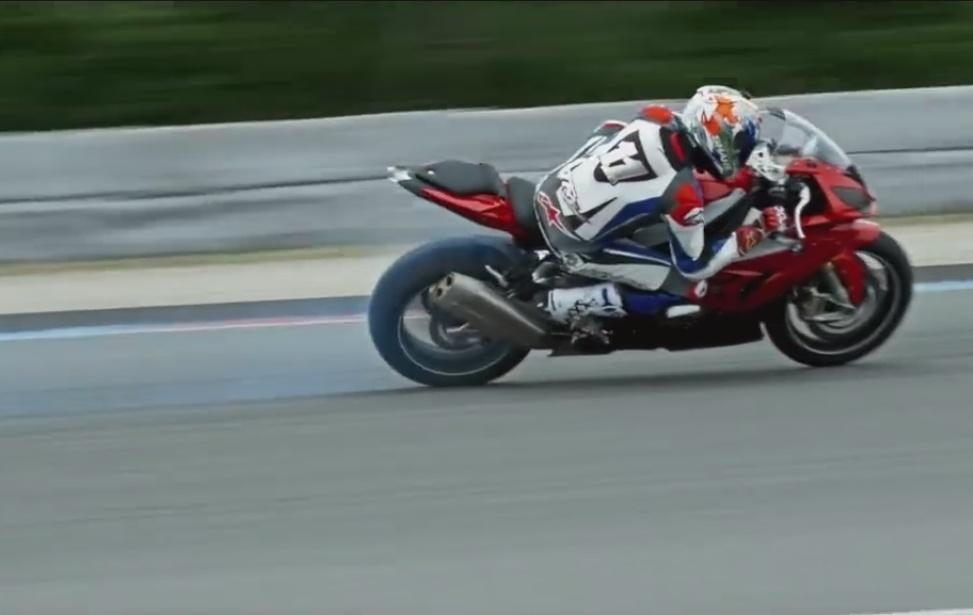 Troy Corser Drifting bmw s1000rr