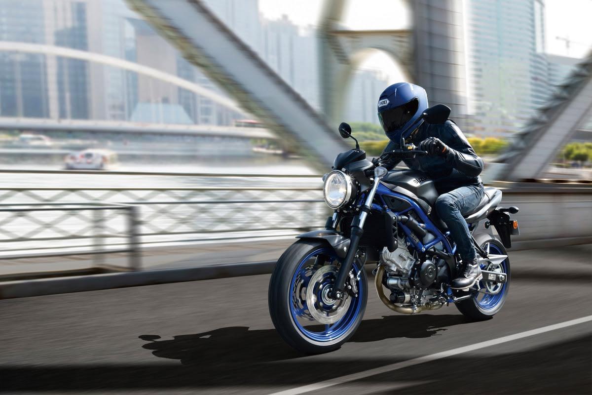 Nuevos colores para la Suzuki SV650 2021