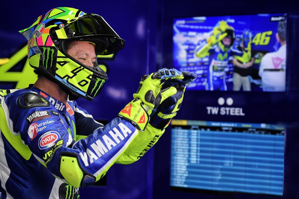 Valentino Rossi no asistió a la reunión de la comision de seguridad