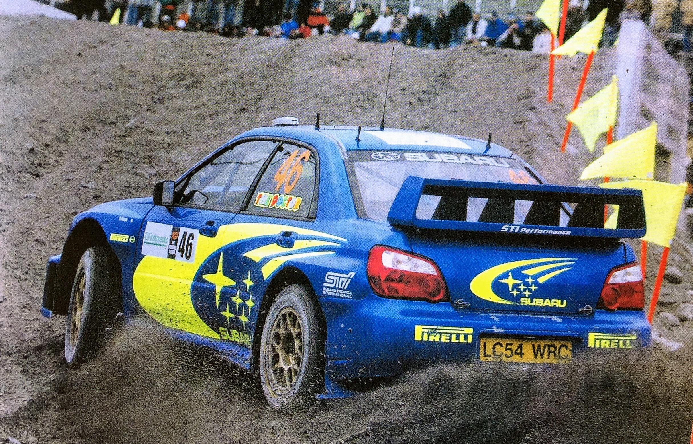 Valentino Rossi Subaru Impreza Monza Rally Show
