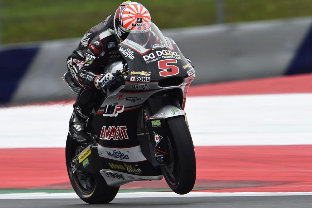 Victoria de Johann Zarzo en el GP de Austria de Moto2