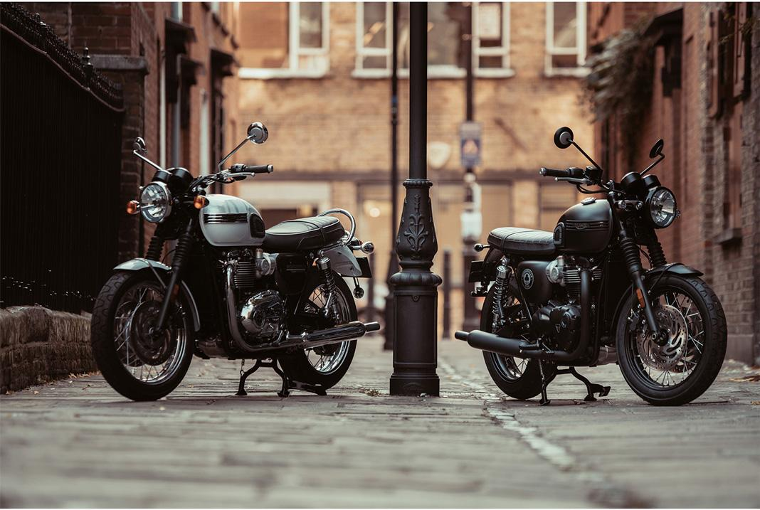 Triumph Bonneville T120 Ace y T120 Diamond Edition