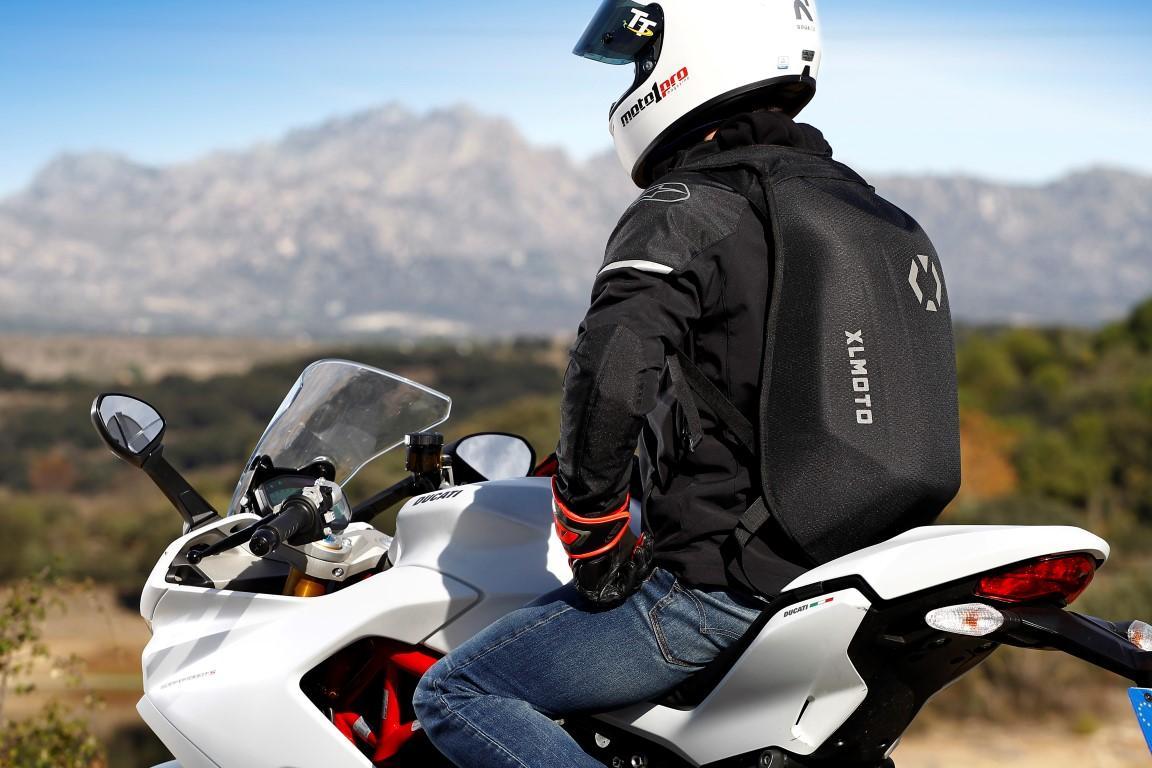 XLMoto Slipstream mochila impermeable espalda