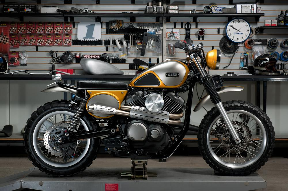 Yamaha SCR 950 Yard Built Jeff Palhegyi Designs