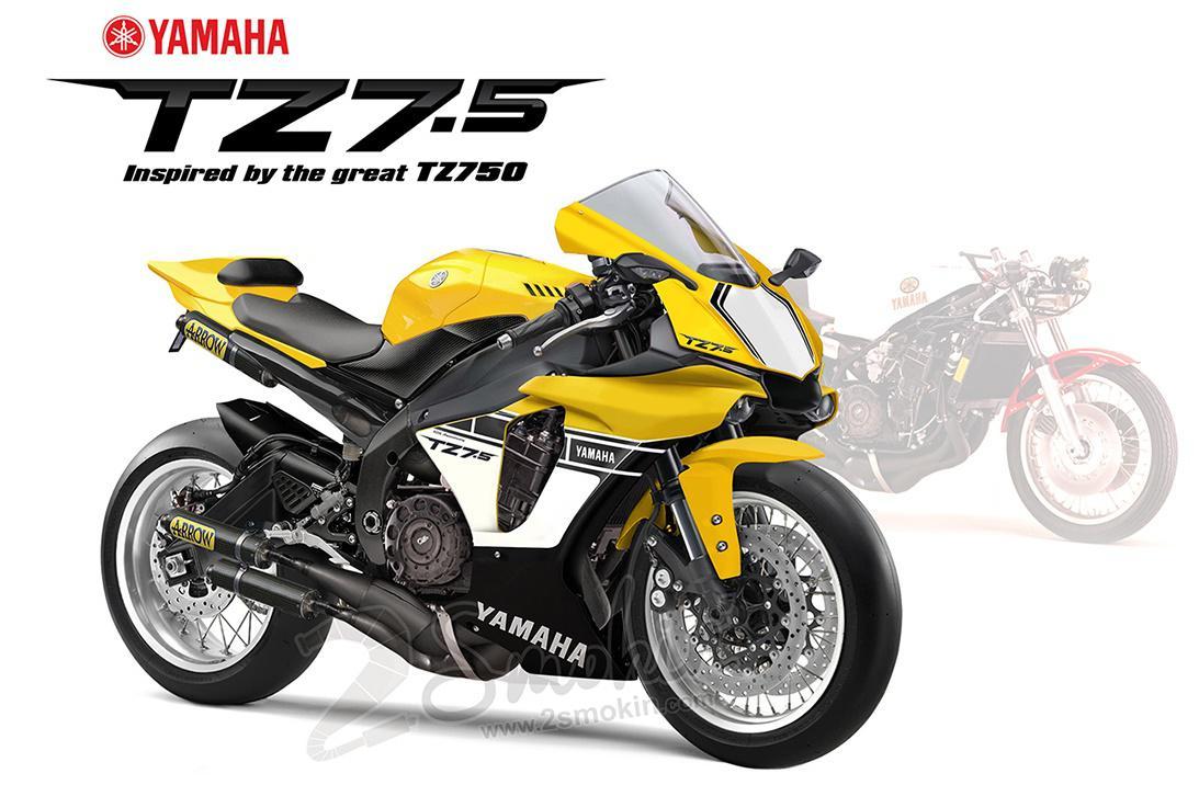 Yamaha TZ750 2t