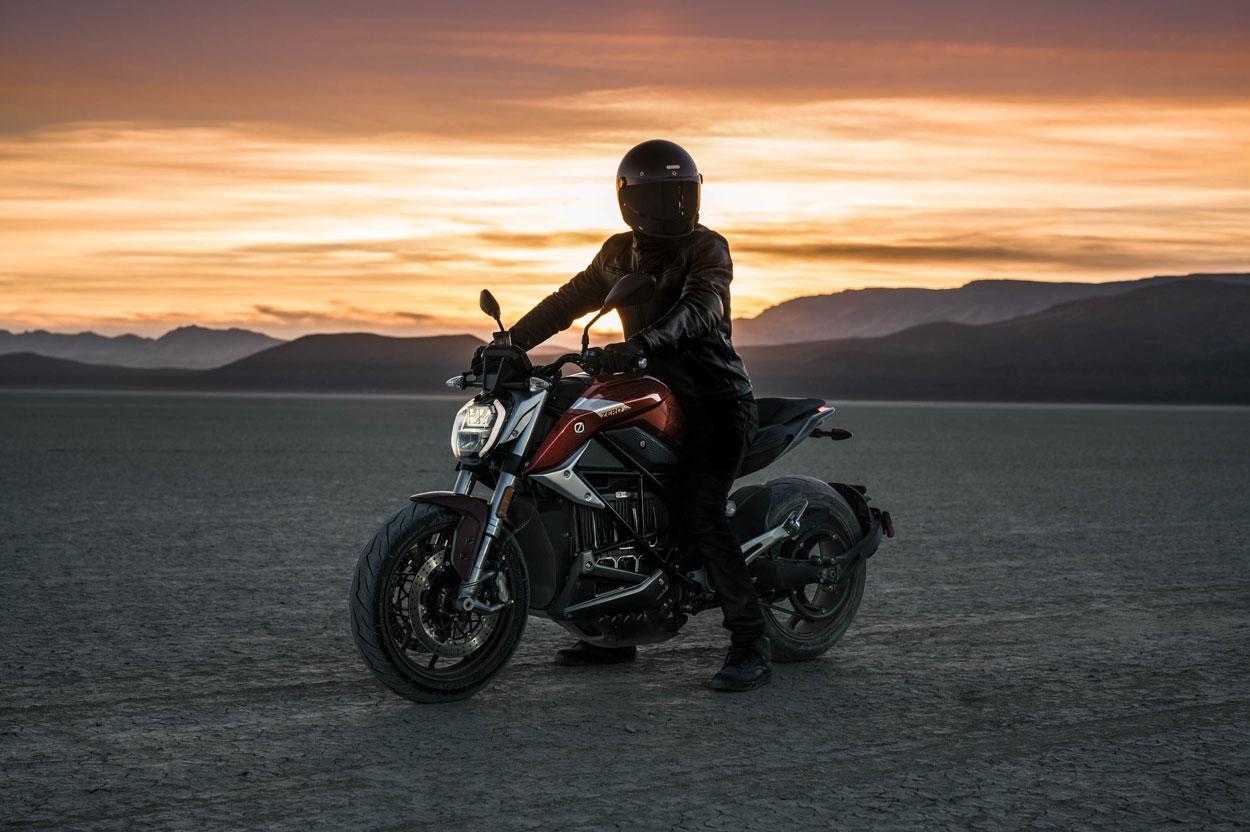 Zero SR F 2019, moto eléctrica