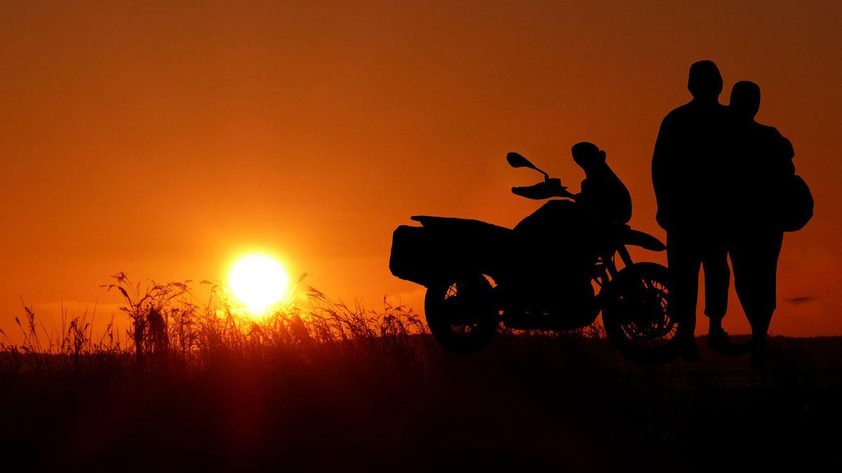 Seduce a tu pareja para montar en moto