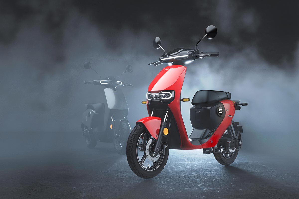 Nuevo Super Soco CUmini: un scooter eléctrico de 1.695 euros