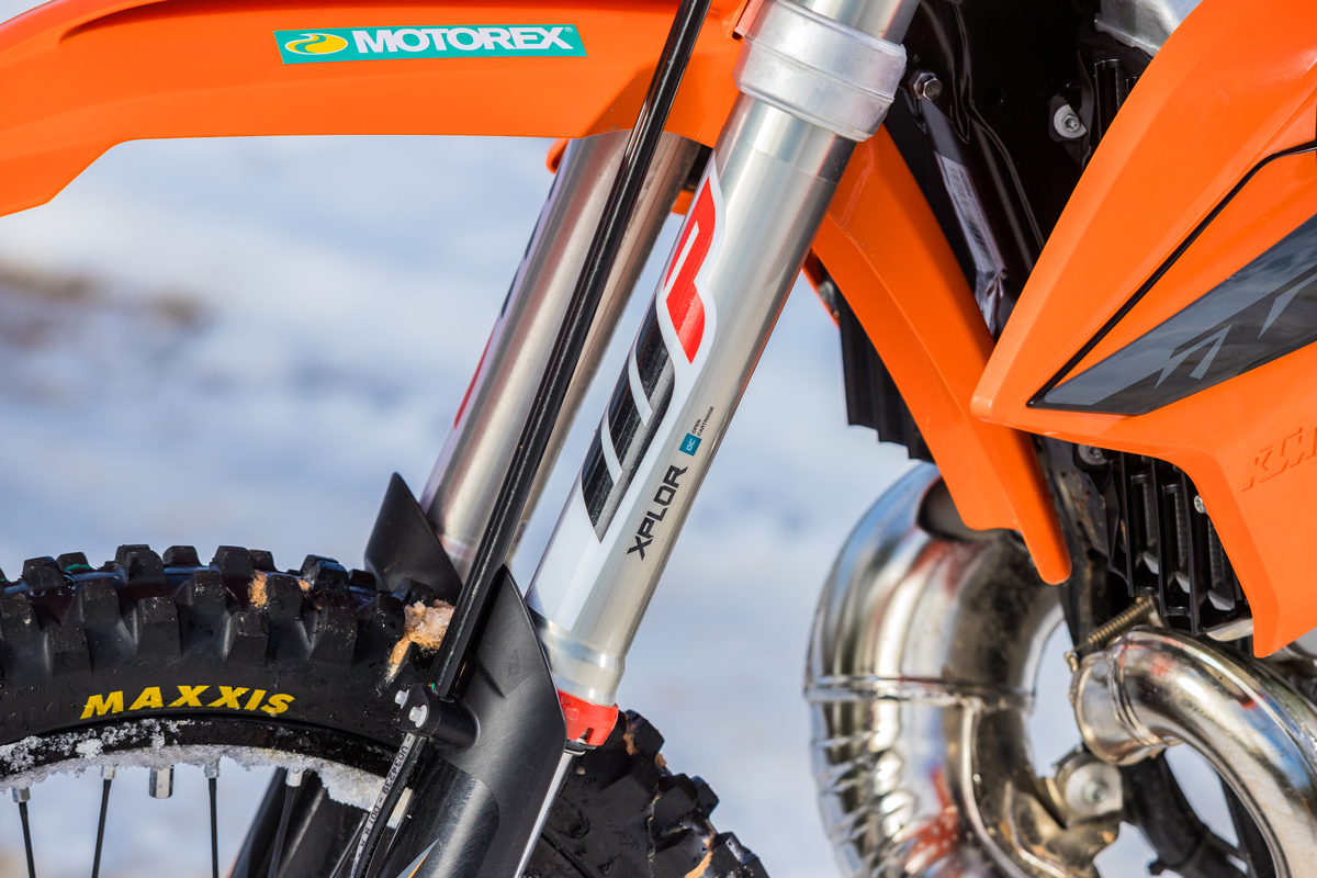 Prueba KTM 250 EXC TPI: Como la seda
