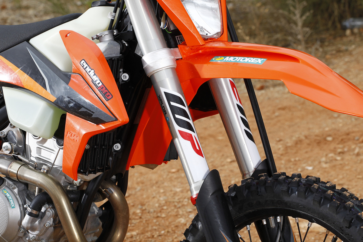 Suspensiones KTM EXC-F 350 2021