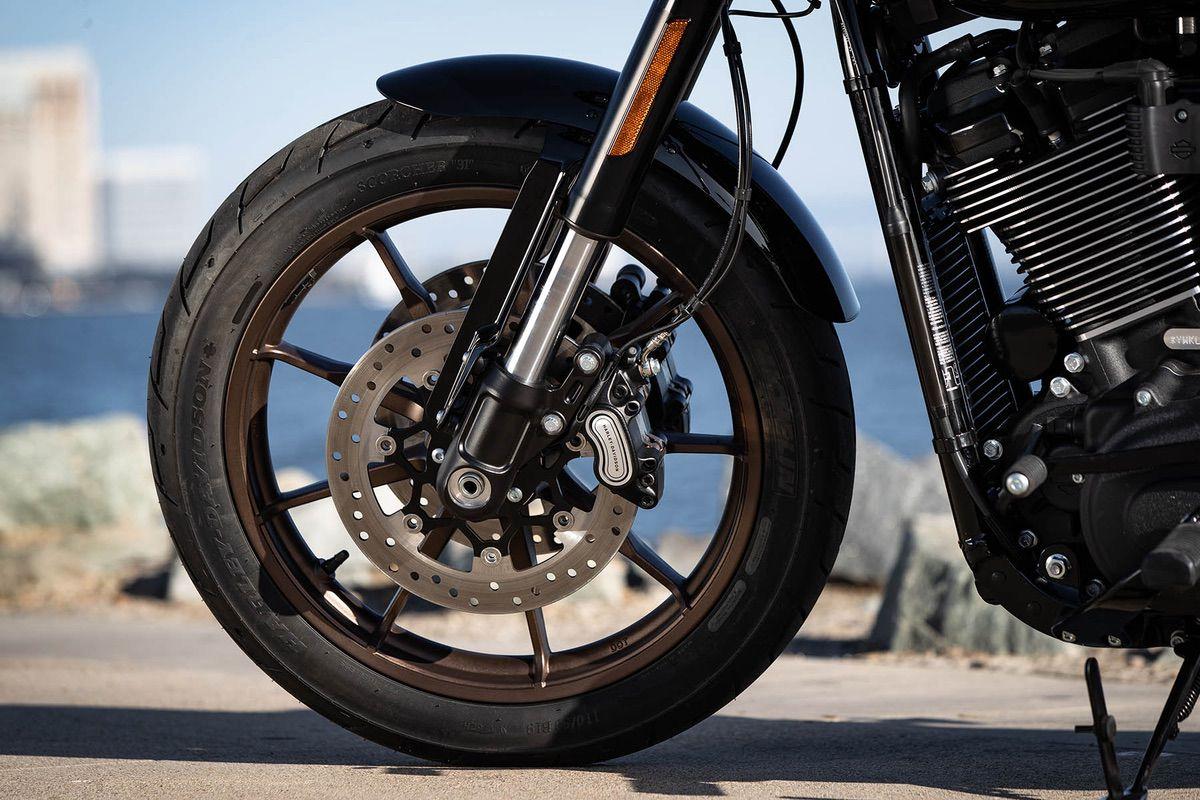 Suspensinoes de la Harley Davidson Low Rider S