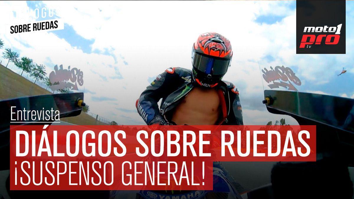 Video Podcast | Diálogos sobre Ruedas: ¡Suspenso General!